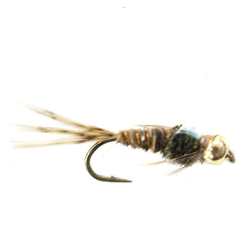 Flashback Pheasant tail bead head nymph X 6