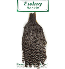 Ewing Hackle Hen Capes Grizzly Australia