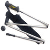 Lockable, folding wading staff with pouch Australia