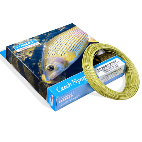 Hanak Czech Nymph Superlight fly line SLT 03F Australia