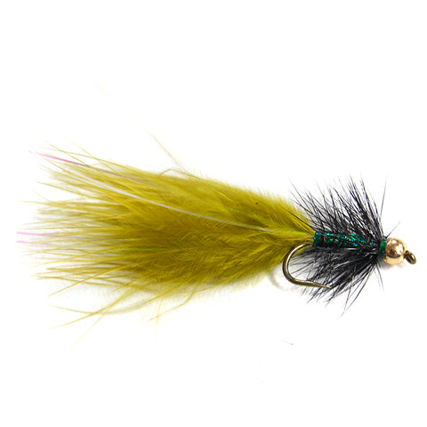 Shrek Bugger Flies - bead head X 6 Australia