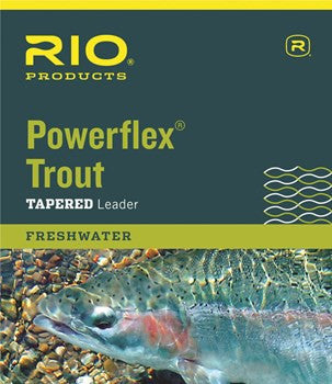 RIO Powerflex Trout Freshwater 9ft Leader