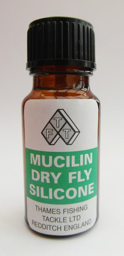 TFT Mucilin Dry Fly Silicone with Brush Australia