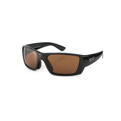 Tonic Sunglasses Rise Photochromic Copper with Gloss Black Frame