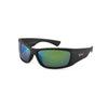 Tonic Sunglasses Shimmer Green Mirror with Matt Black Frame