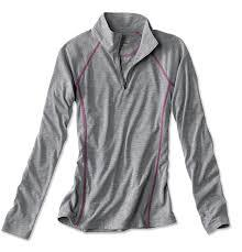 Orvis Womens Trout Bum Dri-release Casting 1/4 Zip Top