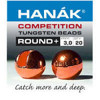 Hanak Competition Tungsten Bead Round Copper Australia