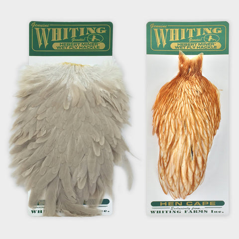 Whiting Herbert Miner Wet Fly Saddle Hackle - 82802