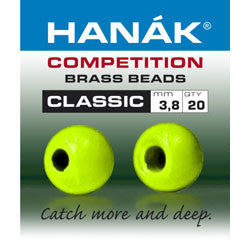 Hanak Competition Brass Bead Classic Chartreuse