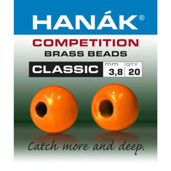 Hanak Competition Brass Bead Classic Fl Orange Australia