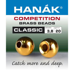 Hanak Competition Brass Bead Classic Gold
