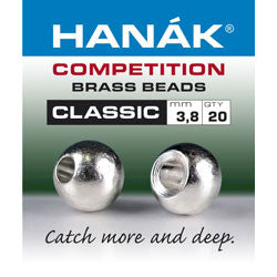Hanak Competition Brass Bead Classic Silver