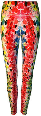 Cognito Womens Rainbow Trout #3 Leggins Australia