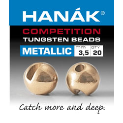 Hanak Competition Tungsten Bead Metallic Rose Gold Australia