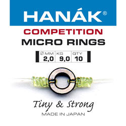 Hanak Competition Micro Rings 2.0mm Tasmania Australia
