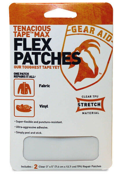 Flex Patches Tenacious Tape - Gear Aid Australia