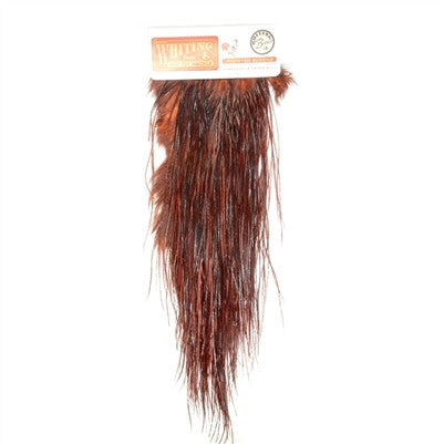 Whiting Dry Fly Rooster Saddle Hackle Bronze - 91302