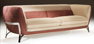 ITALIAN LEATHER SOFA ATENA - vito italia