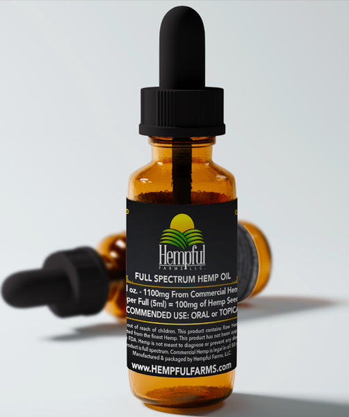 1100mg Hemp Oil
