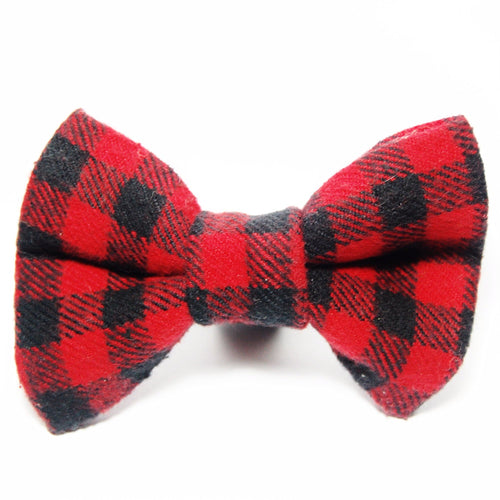 Buffalo Check Flannel Bow Tie