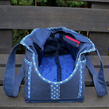 Navy Blue/Navy Blue/Denim & Stars Wally Tote
