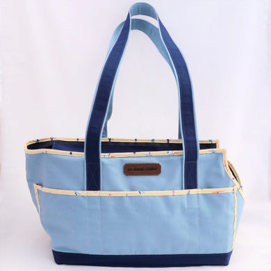 Sky Blue/Navy Blue/Surfers Wally Tote - best seller!