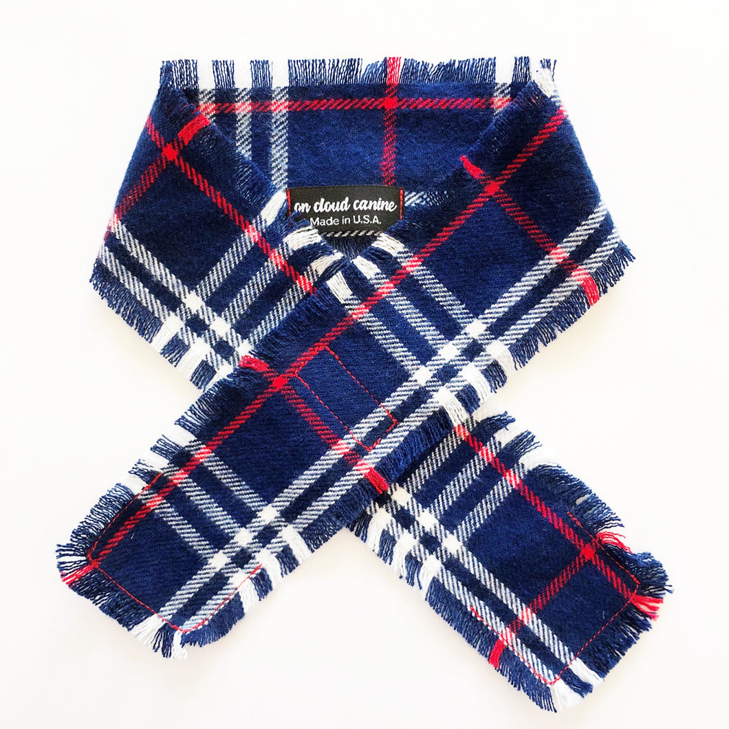 Winter Plaid Flannel Scarf