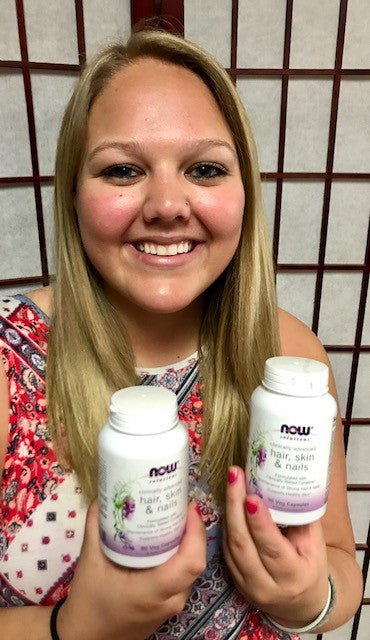 Justyce loves our products of the month!