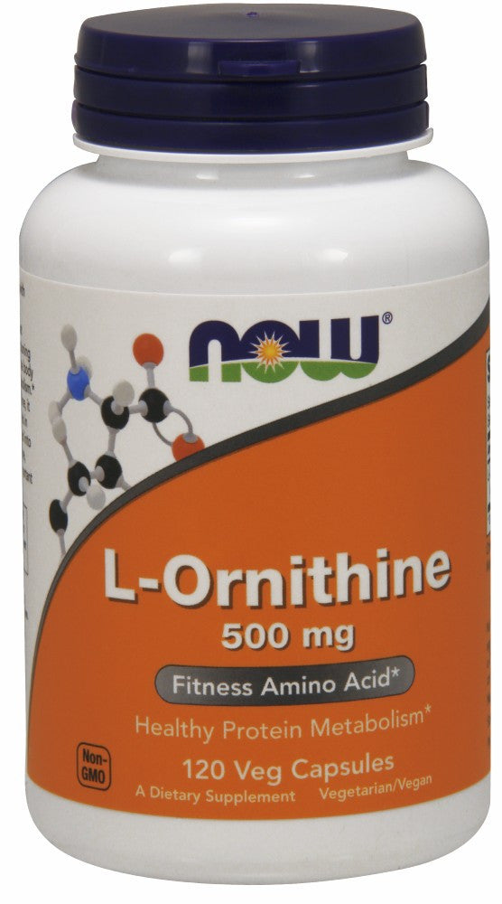 L-Ornithine 500 mg Veg Capsules - The Daily Apple