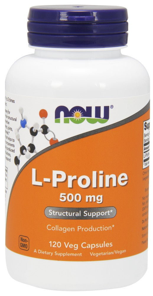 L-Proline 500 mg Veg Capsules - The Daily Apple