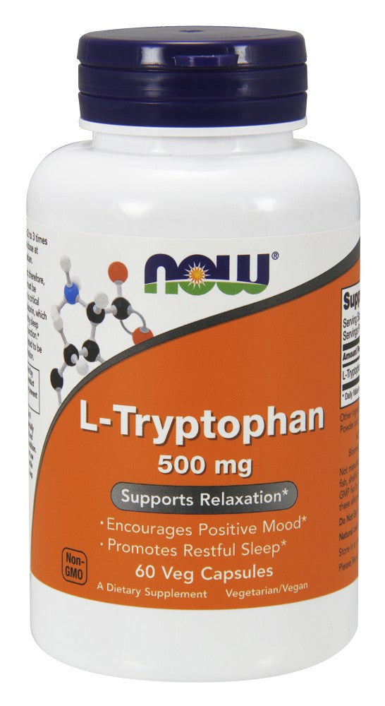 L-Tryptophan 500 mg Veg Capsules - The Daily Apple