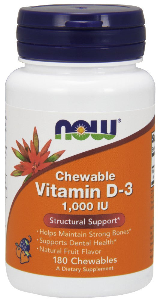 NOW Foods Vitamin D-3 1000 IU Chewable - The Daily Apple