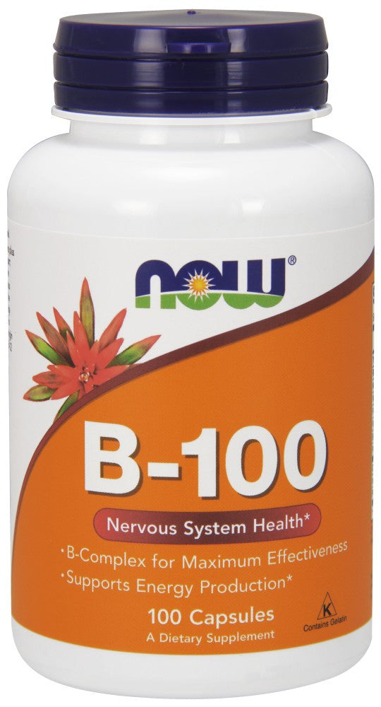 Vitamin B-100 Capsules - The Daily Apple