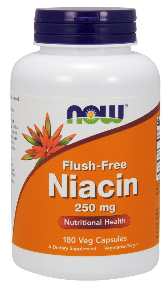Flush-Free Niacin 250 mg Veg Capsules - The Daily Apple