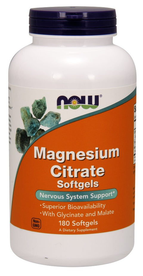 Magnesium Citrate Softgels - The Daily Apple