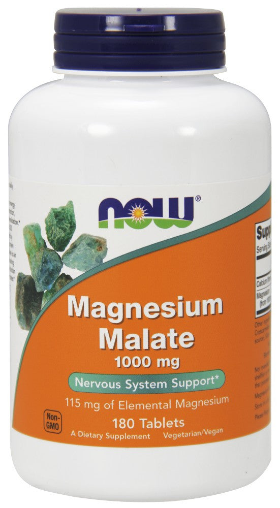 Magnesium Malate 1000 mg Vegetarian Tablets - The Daily Apple