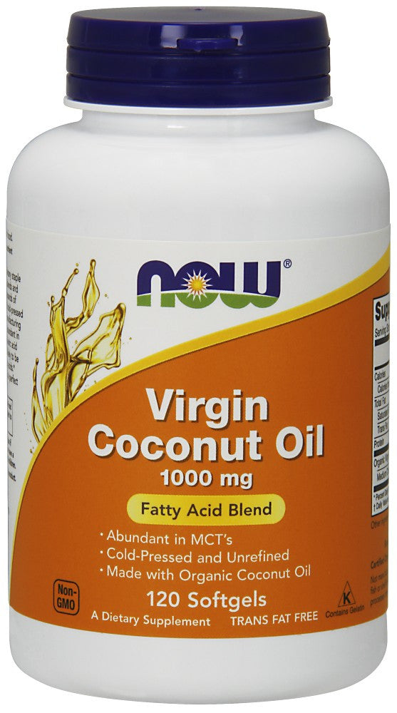 Virgin Coconut Oil 1000 mg Softgels - The Daily Apple