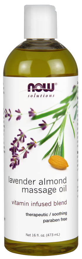 Lavender Almond Massage Oil Vitamin Infused Blend - The Daily Apple