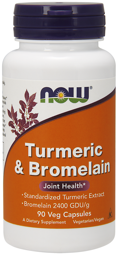 Turmeric & Bromelain 90 Veg Capsules - The Daily Apple
