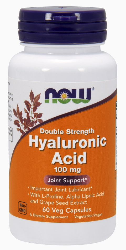 Hyaluronic Acid 100mg Veg Capsules - The Daily Apple