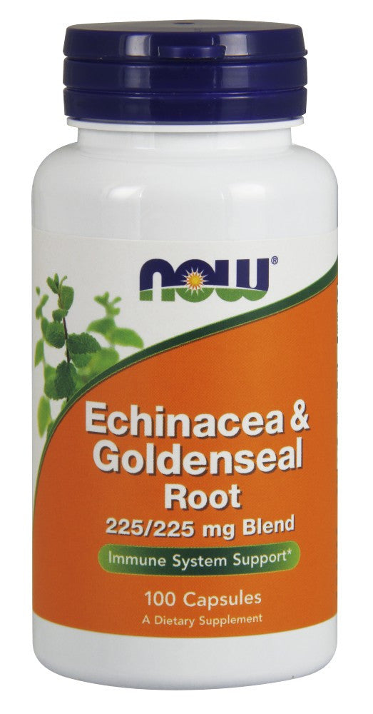 Echinacea & Goldenseal Root Capsules - The Daily Apple