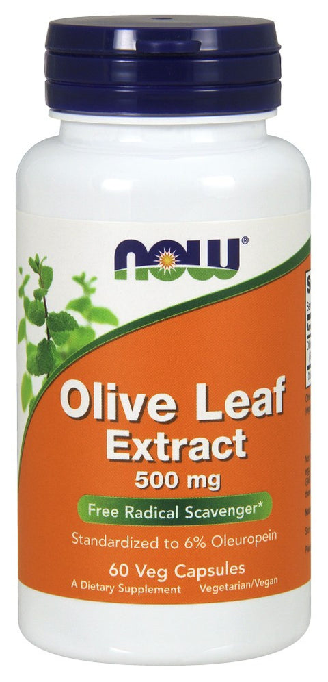 Olive Leaf Extract 500 mg Veg Capsules - The Daily Apple