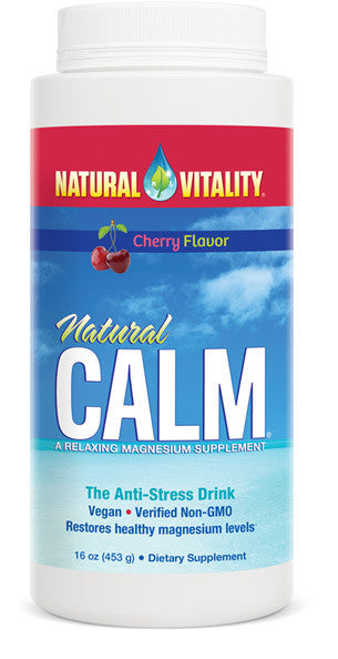Natural Calm Organic Cherry 16oz - The Daily Apple