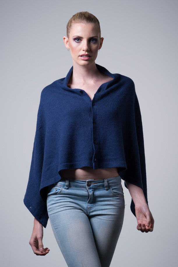 Cashmere-button-wrap-denim-blue