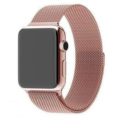 Rose Gold Milanese - Apple Watch Band