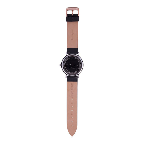 Silver Rose Gold Black - Contemporary