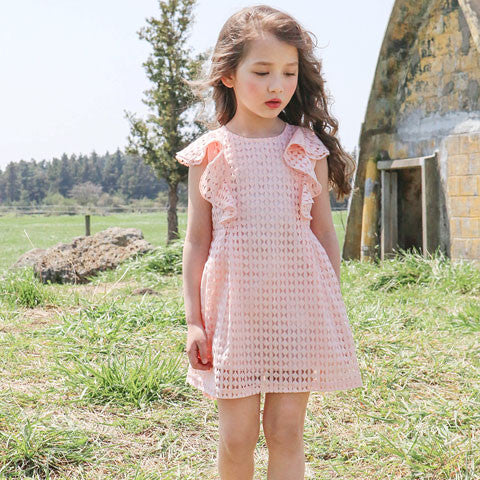 Puella Flo Marcia Lace Dress - Dango Kids