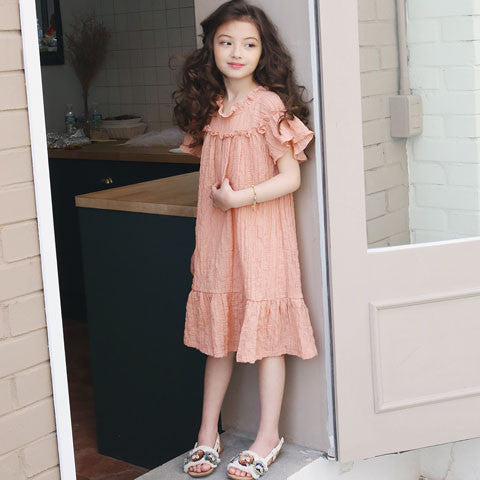 Tutto bene Jenard Cotton Dress - Dango Kids