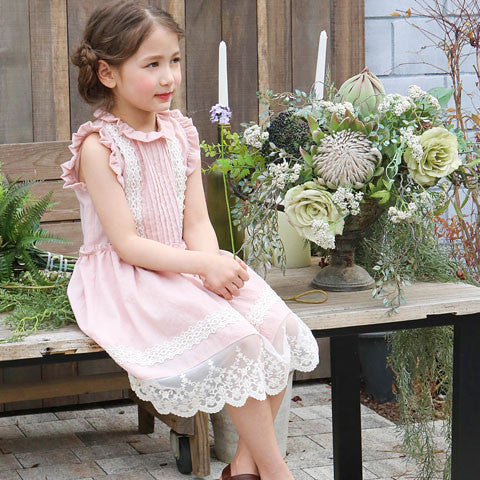 Puella Flo Tienne Pintuck Dress - Dango Kids