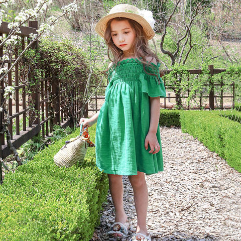 Puella Flo Dona Smocked Dress - Dango Kids